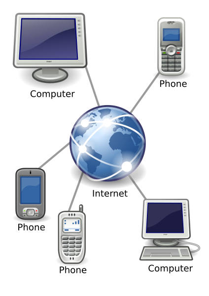 VoIP image illustration