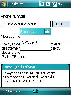 Tuto Flash SMS